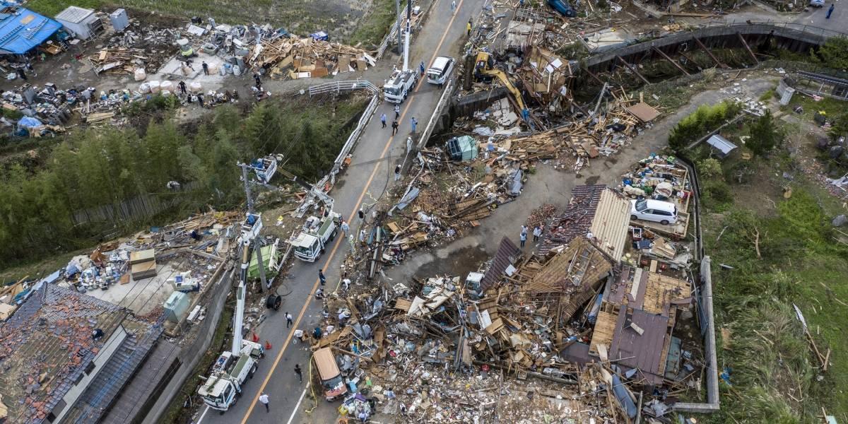 Aumenta para 50 os mortos no Japão pelo tufão Hagibis; 14 estão desaparecidos