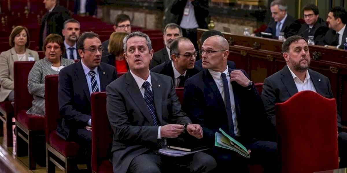 Imponen penas de 9 a 13 años de cárcel a líderes catalanes