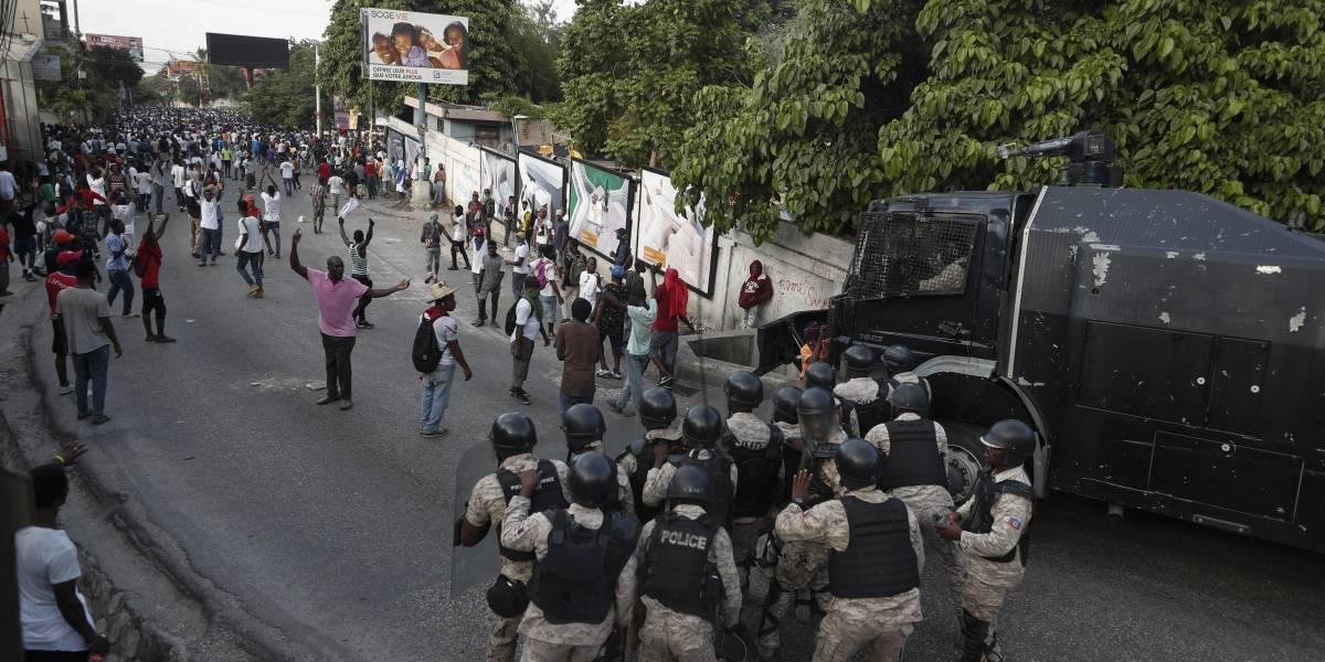 Quinta semana de protestas en Haití
