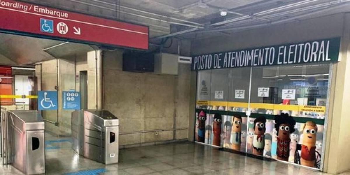 Posto de cadastramento biométrico é inaugurado na estação Anhangabaú do Metrô
