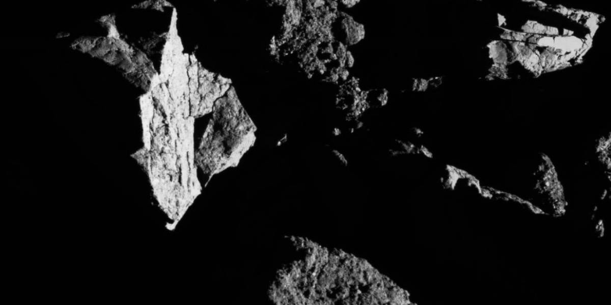 NASA revela nova imagem do gigantesco asteroide Bennu