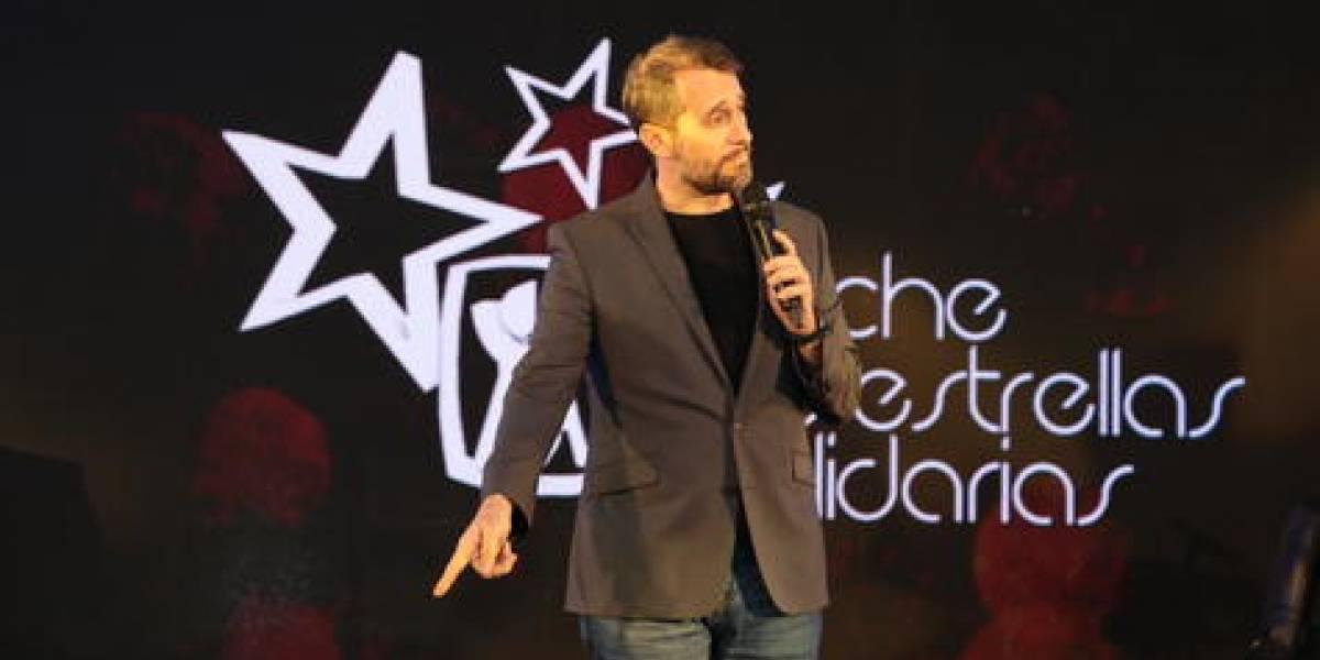 """""""Noche de estrellas solidarias"""", fue protagonizada  por Carlos Sánchez, Diomary """"La Mala"""" y Rubby Pérez"""