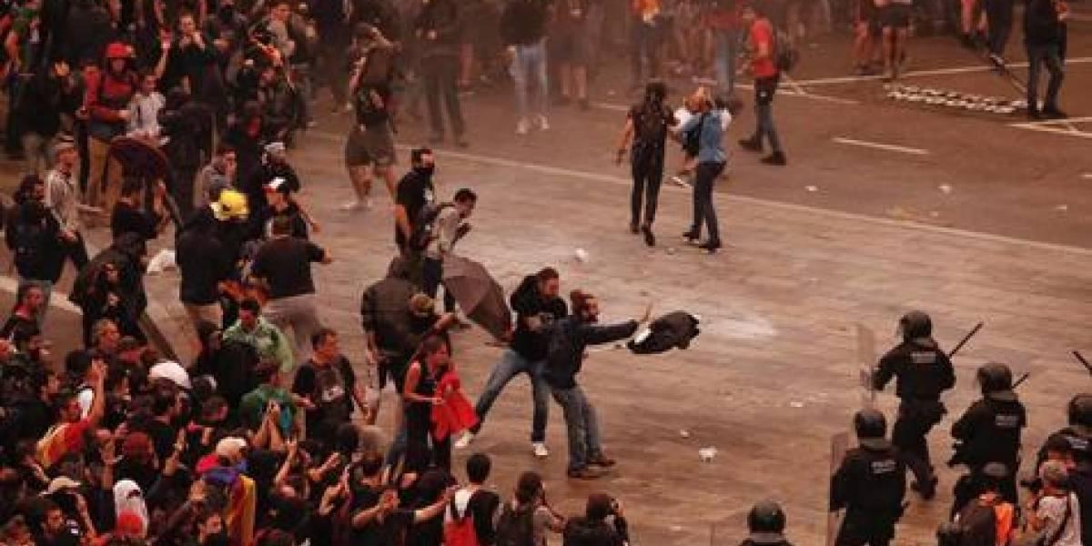 La ira y el caos inundan Cataluña tras sentencia contra los independentistas