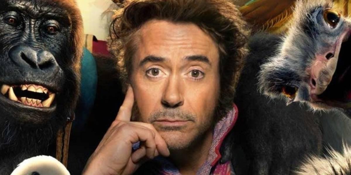 De Iron Man a Doctor Loco: el tráiler de Dolittle con Robert Downey Jr. es espectacular
