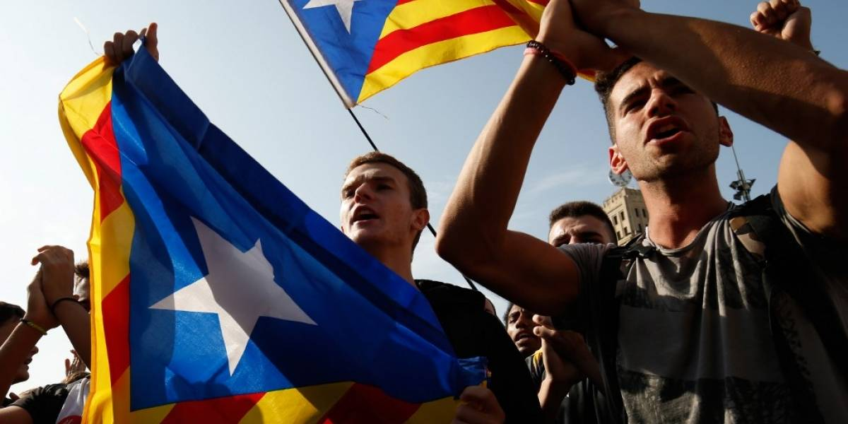 FOTOS. Cataluña reactiva las protestas tras conocerpenascontralíderes independentistas