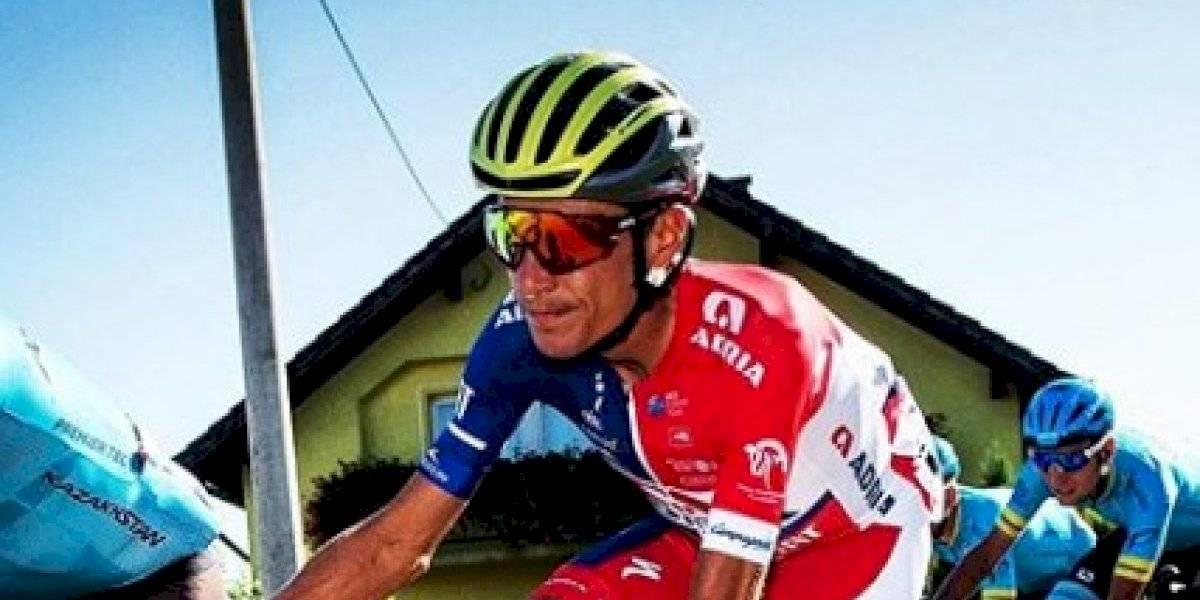 Ex-campeão de ciclismo tira foto absurda da própria perna depois de ficar 10 meses sem competir