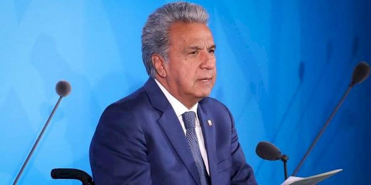 Lenín Moreno señala que en las próximas horas derogará el Decreto 883