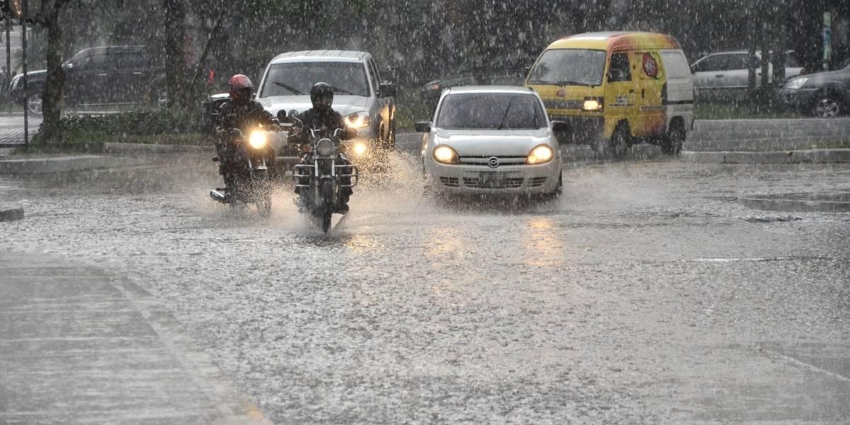 Alertan sobre más lluvia en las próximas 72 horas