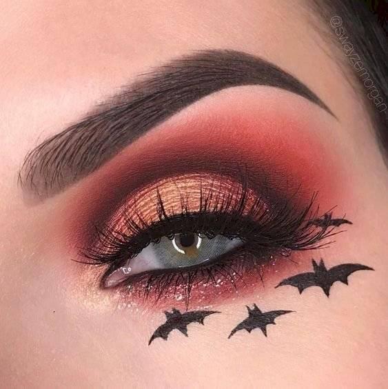 Maquillaje de ojos para Halloween para impactar solo con la mirada | Nueva  Mujer