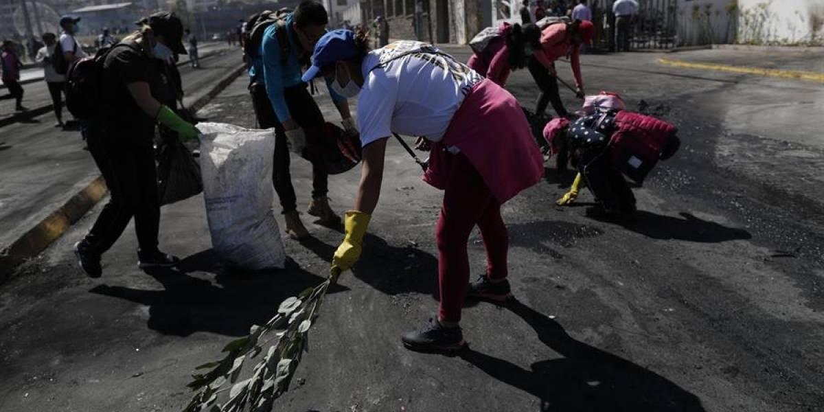 Minga, música y marcha habrá este domingo por Quito después de las fuertes protestas