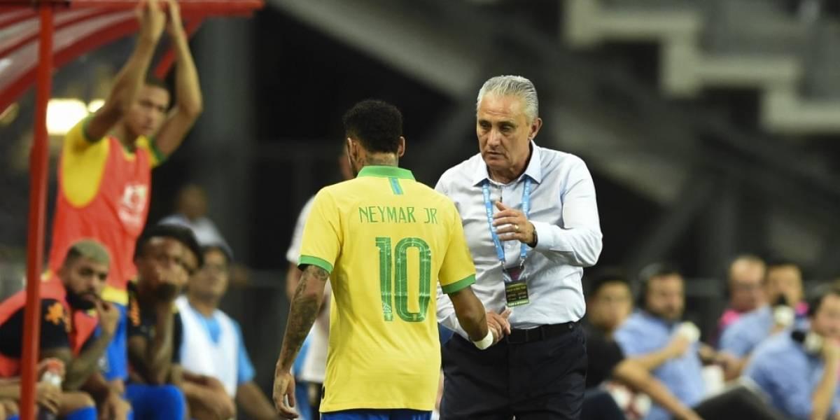 Neymar se vuelve a lesionar con la selección brasileña