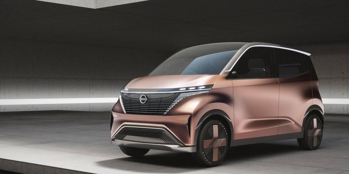 Nissan presenta IMk, el prototipo de EV para los viajeros urbanos modernos