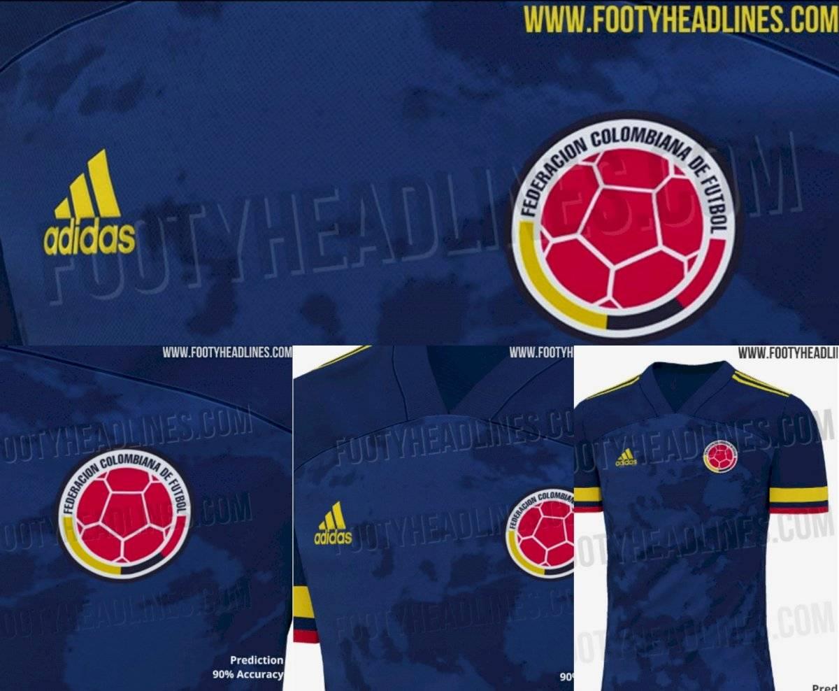 Filtran detalles de la posible nueva camiseta de la Selección Colombia