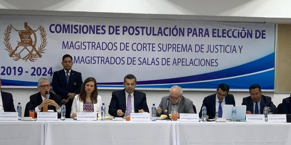 Postuladora a elección de magistrados de CSJ inicia de nuevo sus funciones