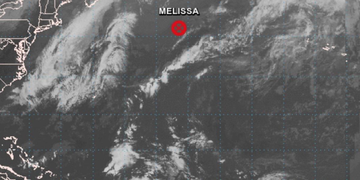 Tormenta tropical Melissa se disipa y deja de ser amenaza