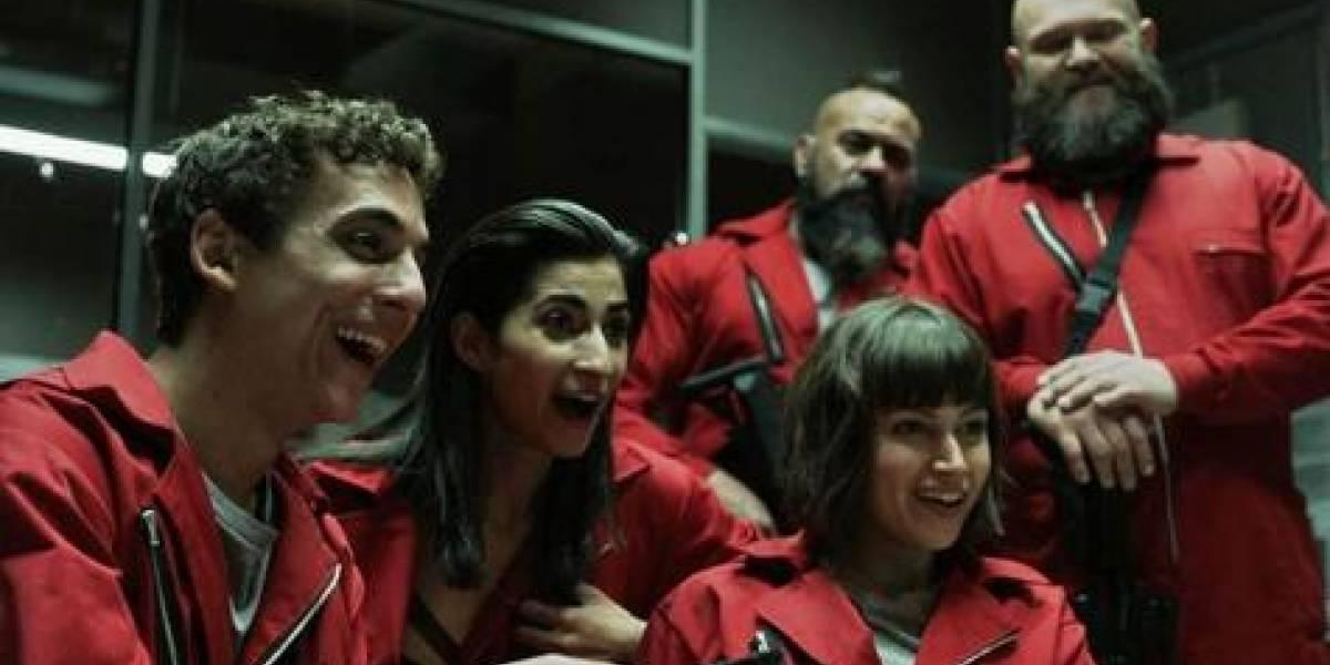 Quinta temporada de 'La casa de papel' por Netflix