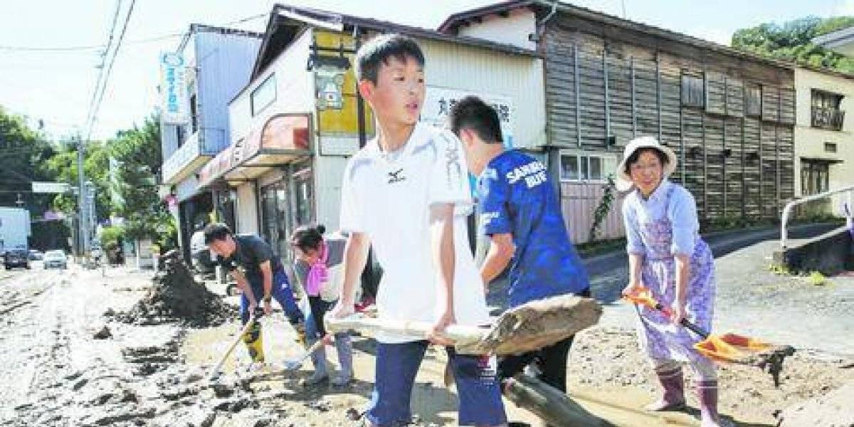 Ciclón deja al menos 26 muertos en Japón