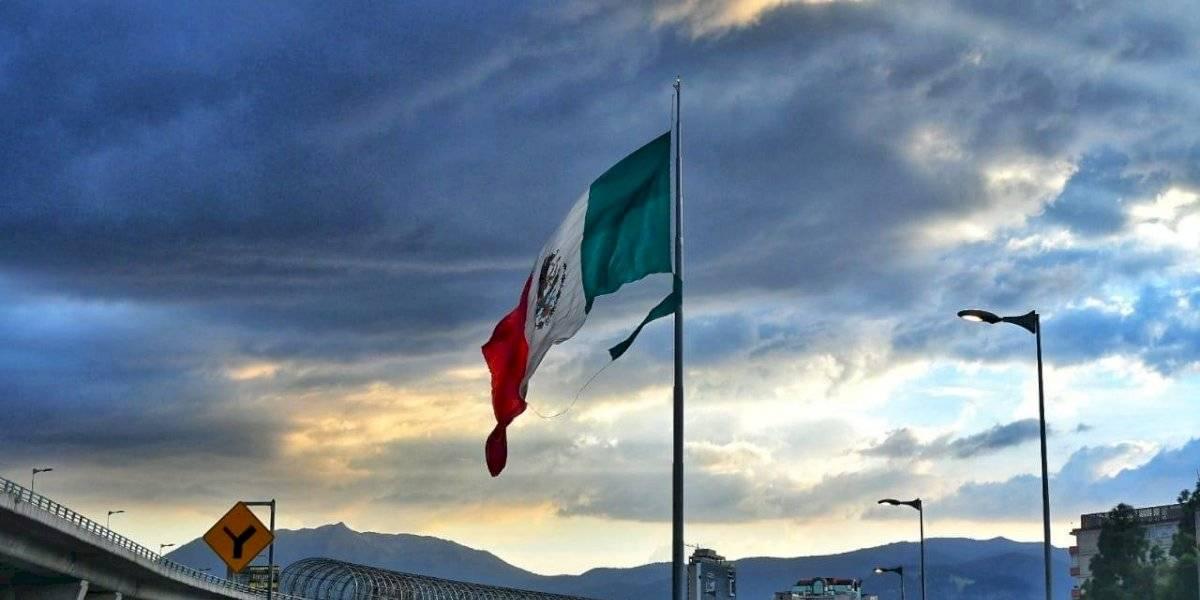 Bandera de San Jerónimo se vuelve a desgarrar por el viento