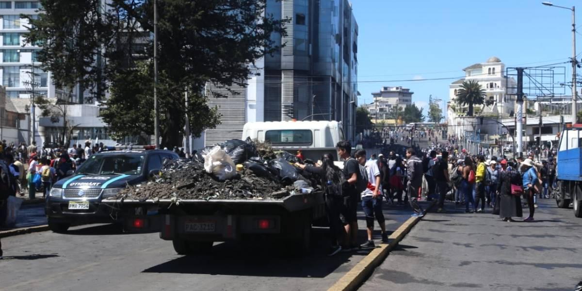 Municipio de Quito pide acción urgente a Fiscalía para sancionar a quienes atentaron contra la ciudad