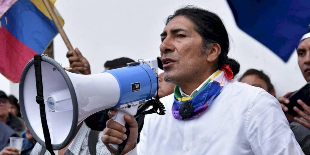 """Yaku Pérez reclama el primer puesto en elecciones y Pachakutik se moviliza para """"evitar fraude"""""""