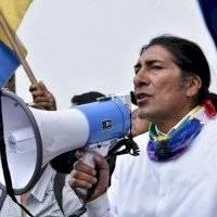 Prefecto del Azuay, Yaku Pérez, dio positivo para COVID-19