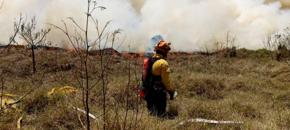 Incendio en Zámbiza