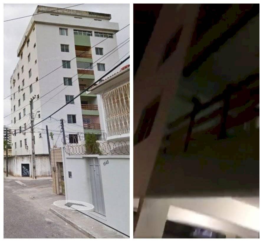 Vídeo mostra estrutura precária de prédio que desabou em Fortaleza
