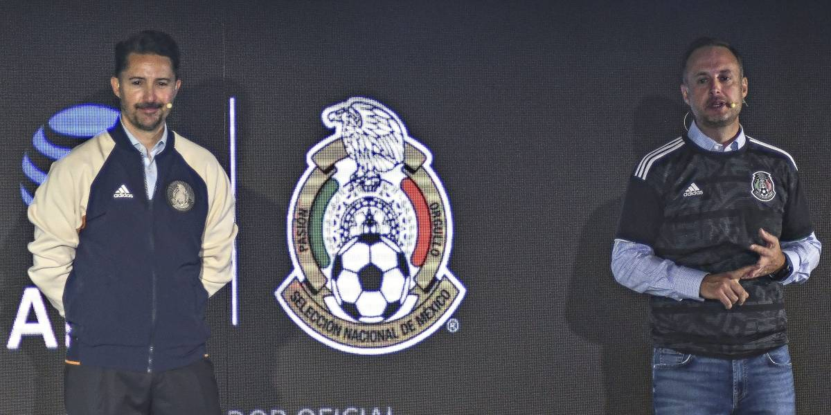 Selección mexicana presenta nuevo patrocinador