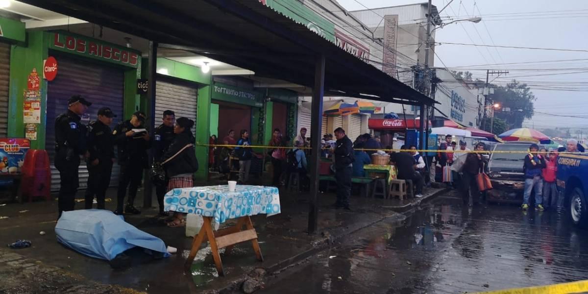 Matan a vendedor de comida en cercanías de La Terminal