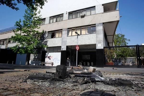 Instituto Nacional incendio