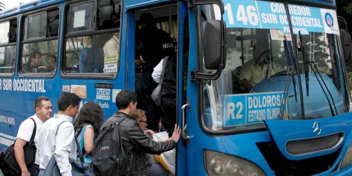 A partir del 15 de octubre rigen las tarifas anteriores del transporte público