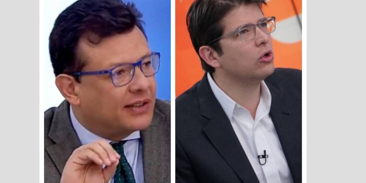 Así fue el 'Gran Debate por Bogotá' entre Hollman Morris y Miguel Uribe
