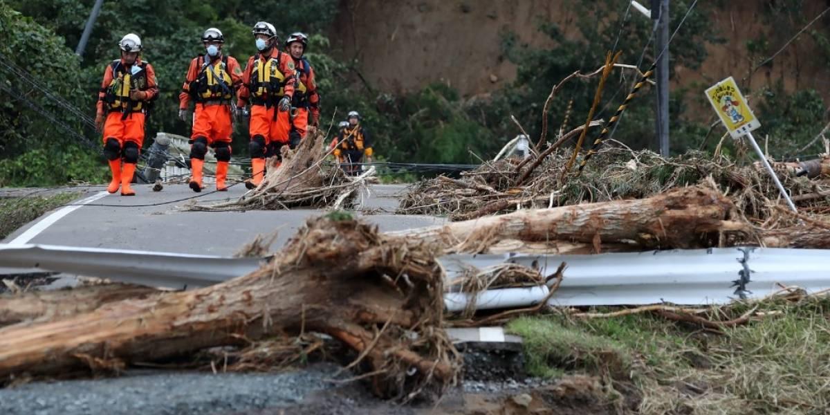 Sube a 70 el balance de muertos por el paso del tifón Hagibis por Japón