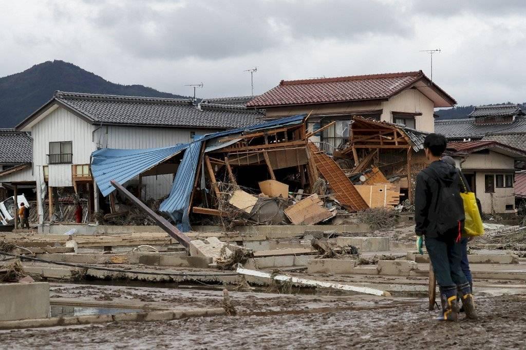 Tifón Hagibis azota Japón
