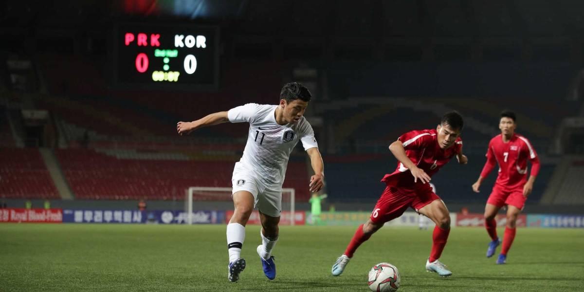 Disgusta a FIFA que juego entre coreas no tuviera público ni transmisión en vivo