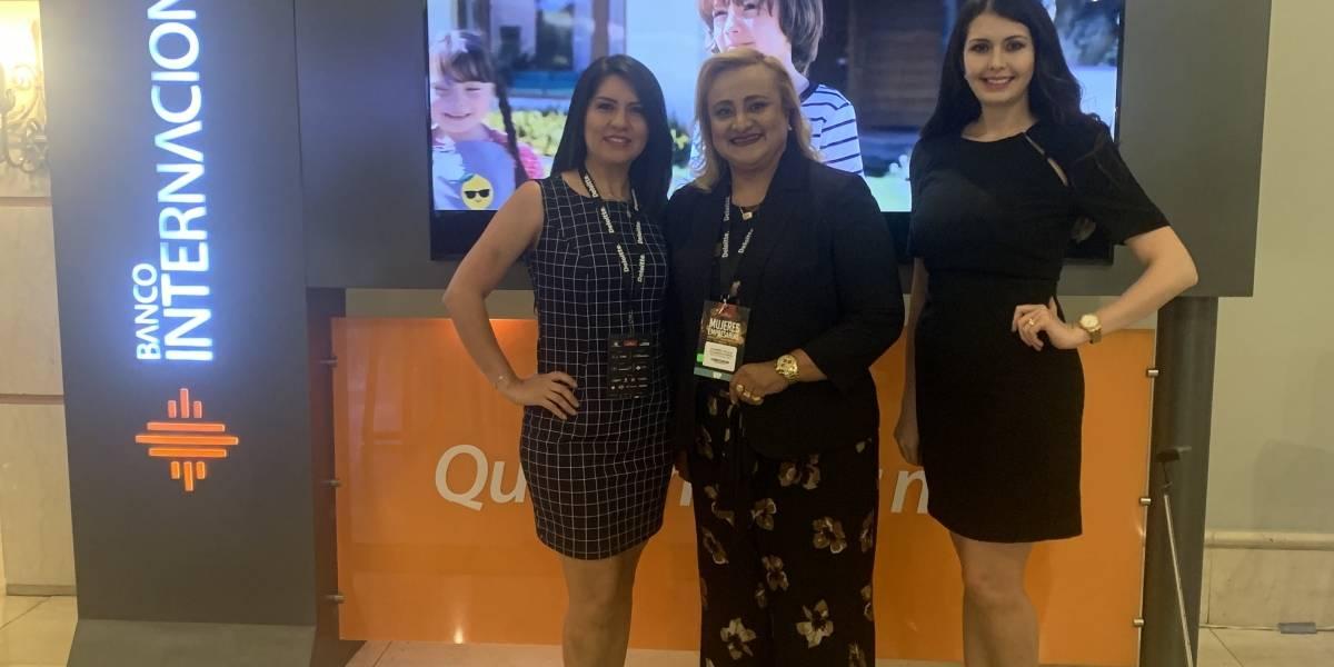 Banco Internacional participó en evento de mujeres empresarias