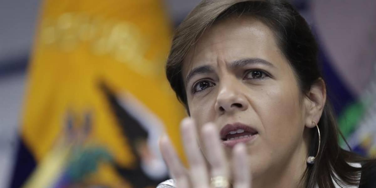 """María Paula Romo sobre fallecidos en protestas: """"Existe un nombre que aún no se encuentra en ninguna institución"""""""