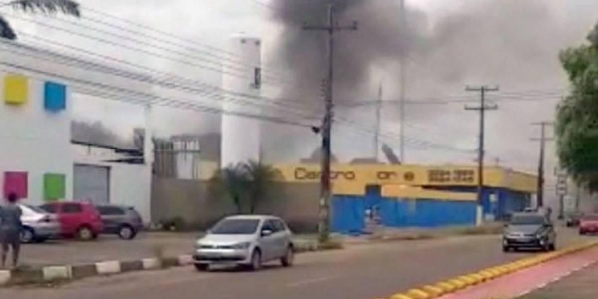 Quatro mortes são confirmadas após explosão de gás em Roraima; bombeiros ainda procuram vítimas