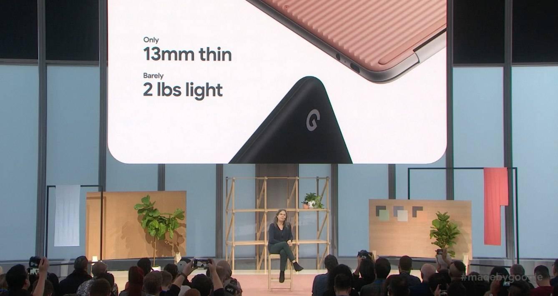 Google muestra de forma oficial su nueva Pixelbook Go