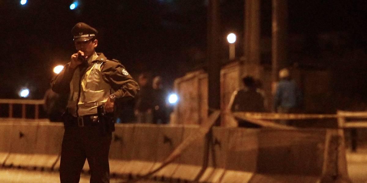 Motociclista muere en accidente en Costanera Norte: portaba casco de bicicleta