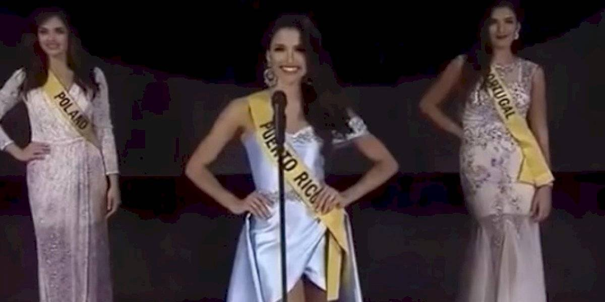 Sobresale Hazel Ortiz en presentación de candidatas Miss Grand International 2019