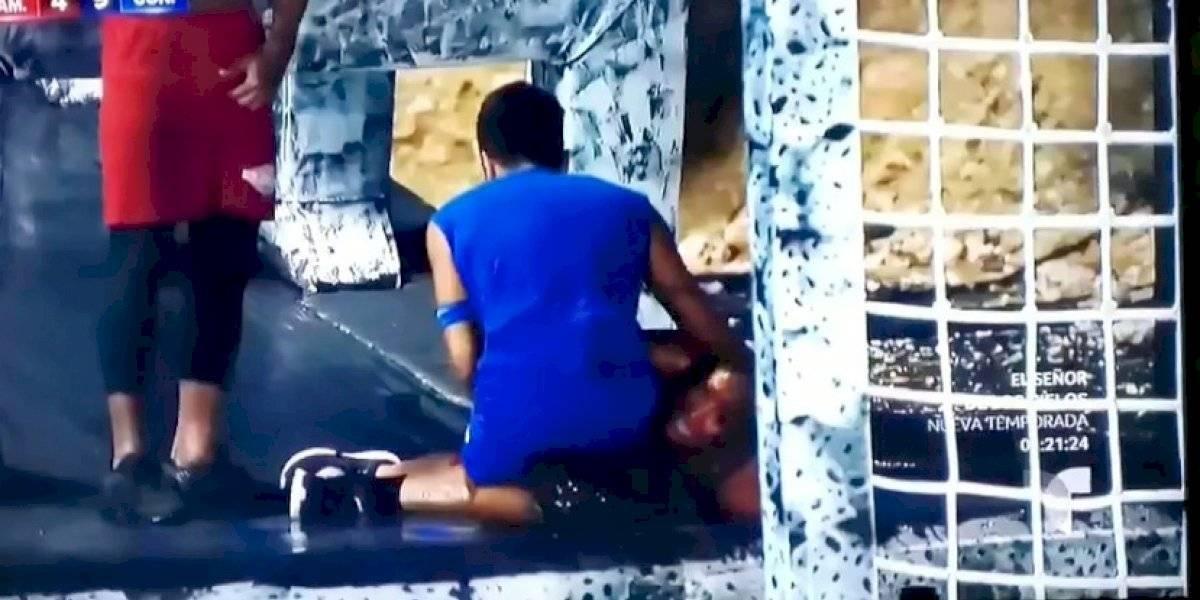 "Conmovedoras imágenes tras lesión en ""Exatlón Estados Unidos 3"""