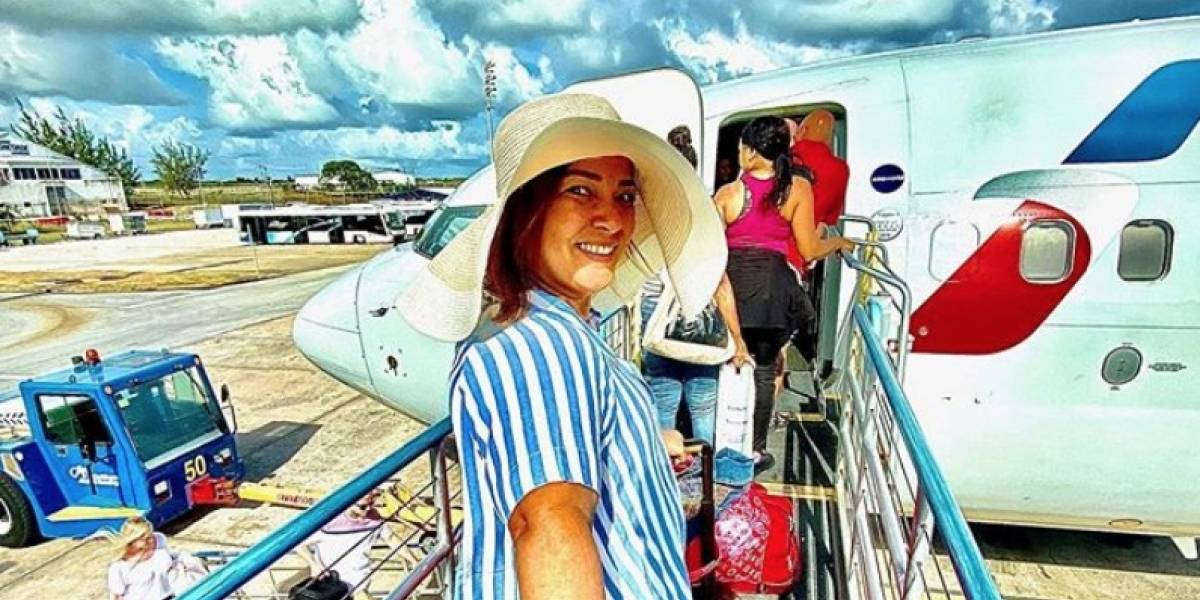 Adamari pasa unos días maravillosos con Toni en Barbados