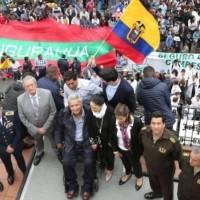 El presidente Lenín Moreno regresó al Palacio de Carondelet