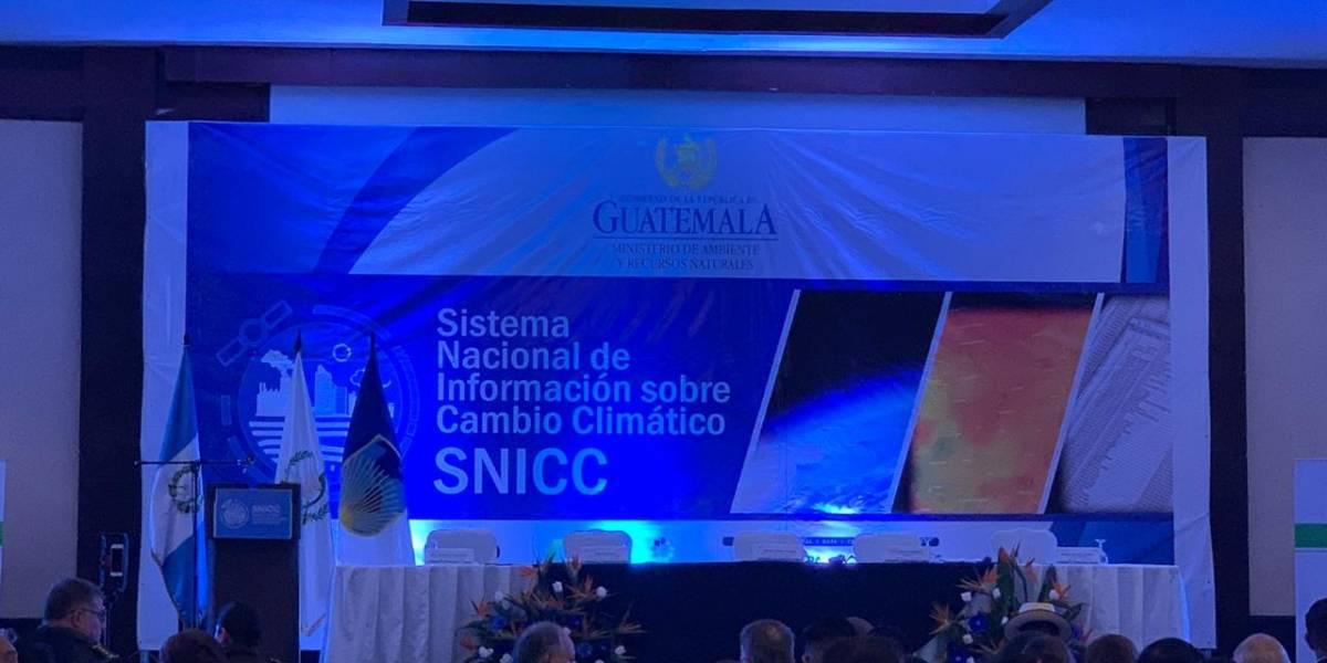 Presentan Sistema Nacional de Información sobre Cambio Climático