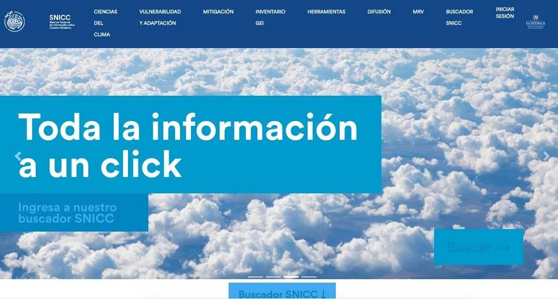 MARN presenta Sistema Nacional de Información sobre Cambio Climático