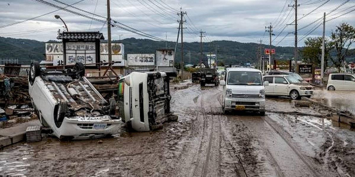 68 muertos en Japón por el super tifón Hagibis