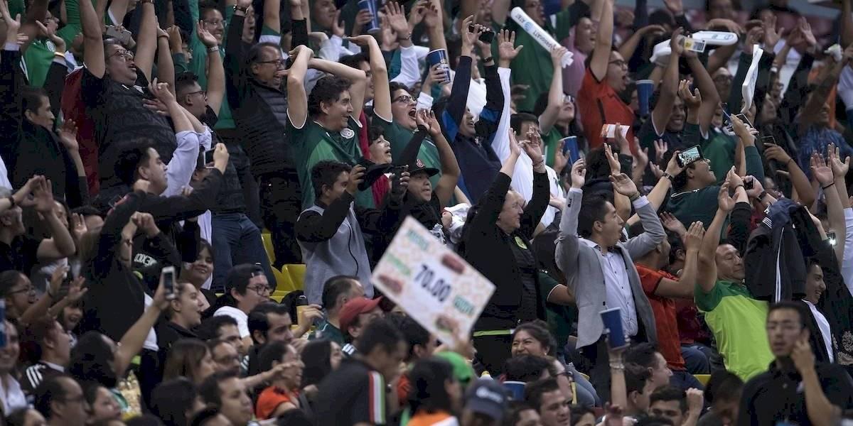 Grito de 'Ehh Pu...' no se hizo presente en el Estadio Azteca