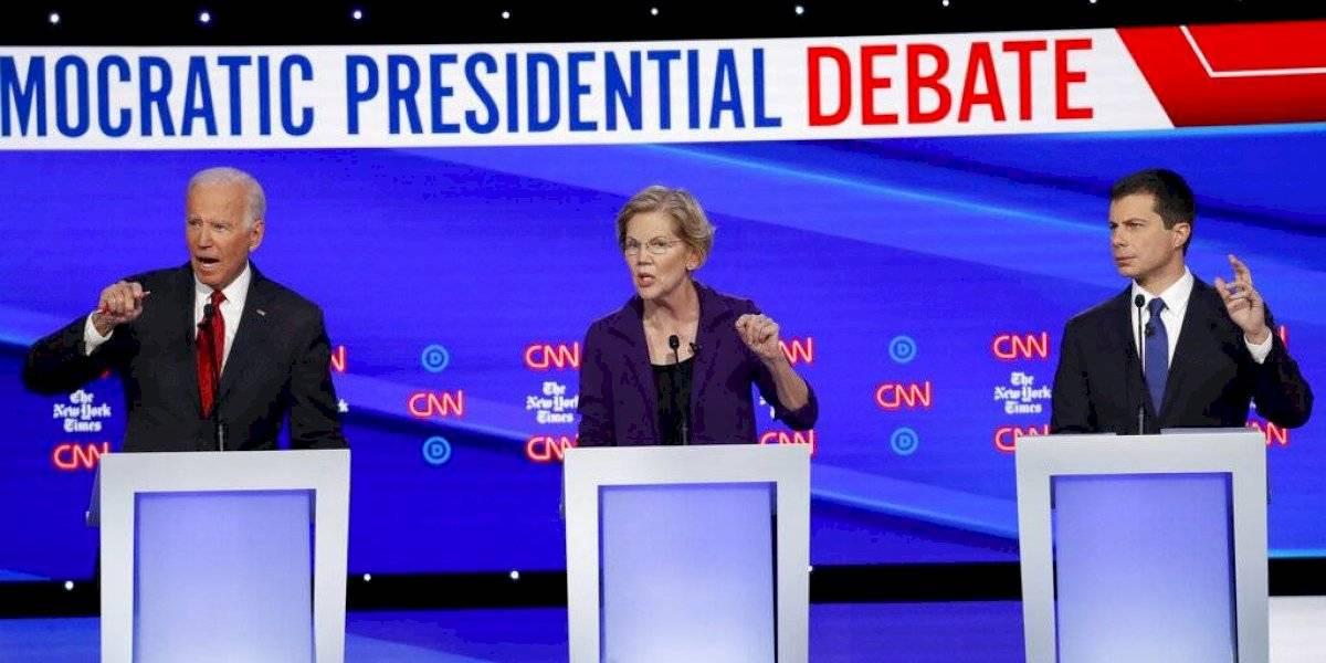 Demócratas atacan a una Elizabeth Warren en ascenso en otro debate