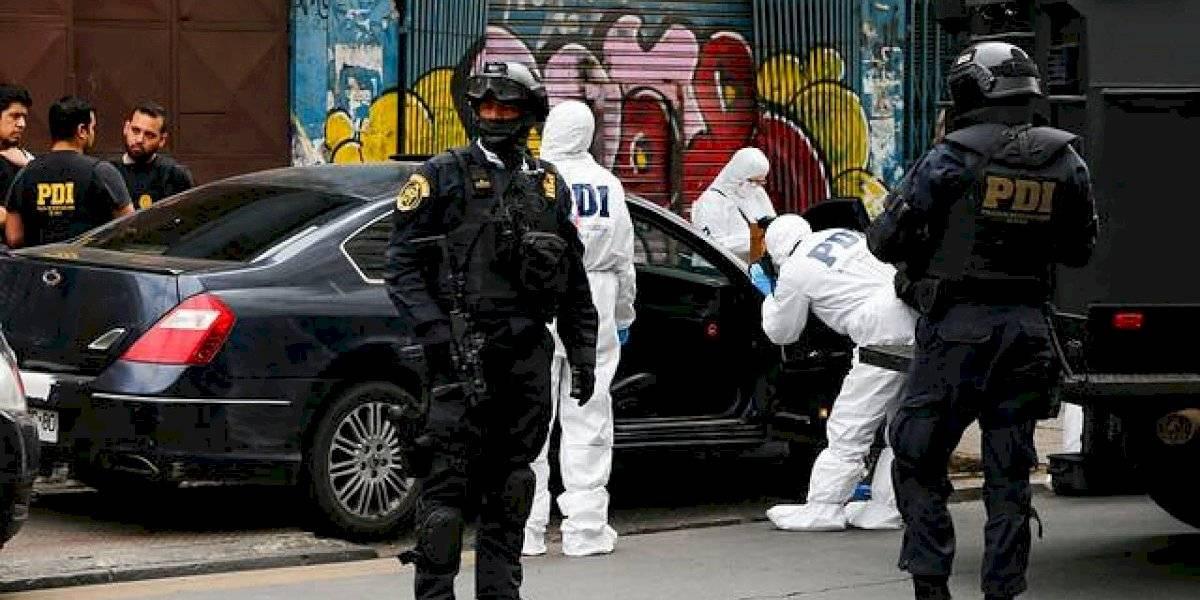 Operativo de la PDI terminó con ocho detenidos tras confuso secuestro de colombiano en Renca
